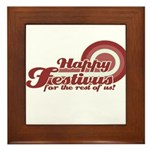 Happy Festivus Framed Tile