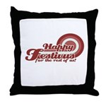 Happy Festivus Throw Pillow