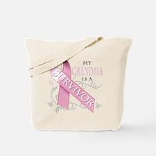 My Grandma is a Survivor Tote Bag