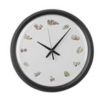 Fruit circle Large Wall Clock