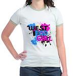 West end Girl Jr. Ringer T-Shirt