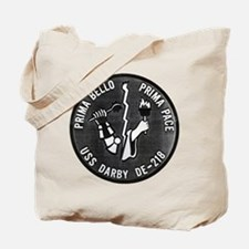 USS DARBY Tote Bag