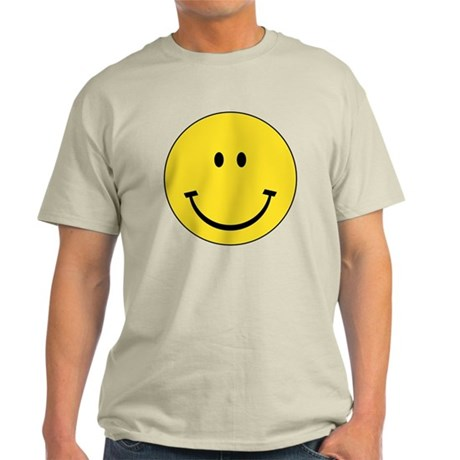 Retro Smiley Face Light T-Shirt