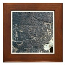 Petroglyph - Framed Tile