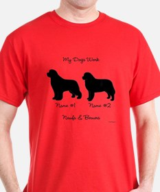 Newf and Berner T-Shirt