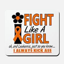 Licensed Fight Like a Girl 1.2 Leukemia Mousepad