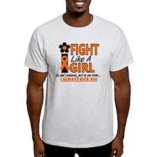 Licensed Fight Like a Girl 1.2 Leuke T-Shirt