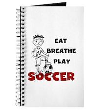 Eat Breathe Play Soccer Journal