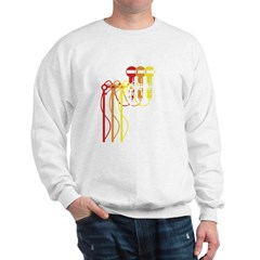 Mic stand gradient Sweatshirt