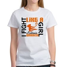 Licensed Fight Like a Girl 3.2 Leu Tee