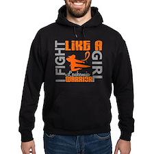 Licensed Fight Like a Girl 3.2 Leuke Hoodie