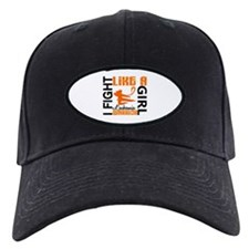 Licensed Fight Like a Girl 3.2 Leukemia Baseball Hat