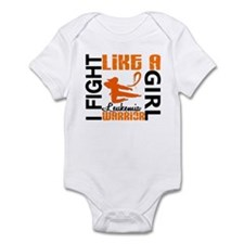 Licensed Fight Like a Girl 3.2 Leu Infant Bodysuit