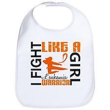 Licensed Fight Like a Girl 3.2 Leukemia Bib