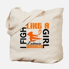 Licensed Fight Like a Girl 3.2 Leukemia Tote Bag