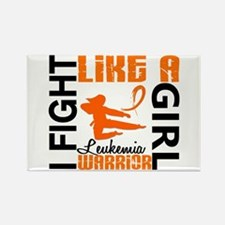 Licensed Fight Like a Girl 3.2 Le Rectangle Magnet