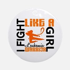 Licensed Fight Like a Girl 3.2 Le Ornament (Round)