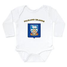 Falkland Islands Long Sleeve Infant Bodysuit