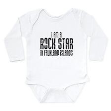 Rock Star in Falkland Islands Long Sleeve Infant B