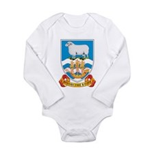 Falkland Islands Coat Of Arms Long Sleeve Infant B
