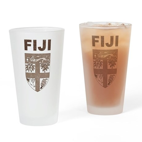 Vintage Fiji Pint Glass