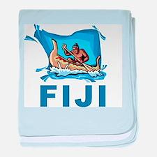 Fiji baby blanket