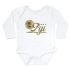 Palm Tree Fiji Long Sleeve Infant Bodysuit