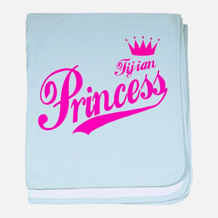 Fijian Princess baby blanket