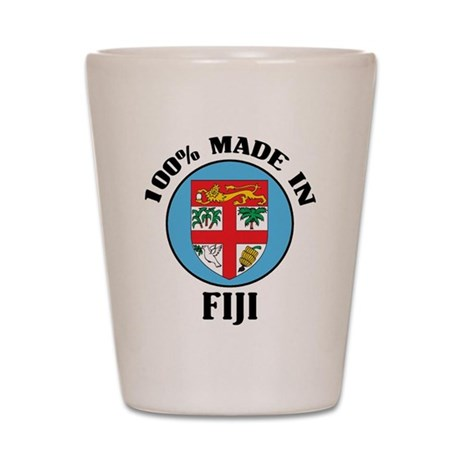 Made In Fiji Shot Glass