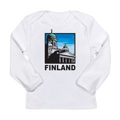 Finland Long Sleeve Infant T-Shirt