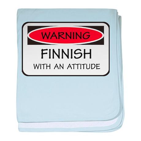 Attitude Finnish baby blanket