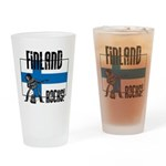 Finland Rocks Pint Glass
