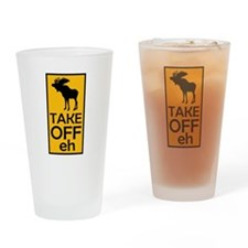 Take Off eh Pint Glass