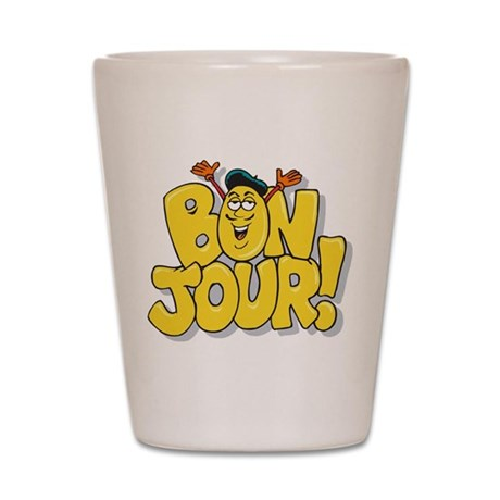 Bon Jour Shot Glass