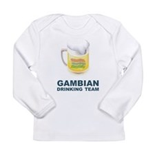 Gambian Drinking Team Long Sleeve Infant T-Shirt