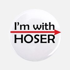"I'm With Hoser 3.5"" Button (100 pack)"