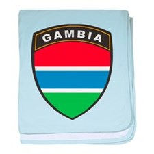 Gambia baby blanket