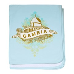 Mosque Gambia baby blanket