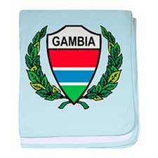Stylized Gambia baby blanket