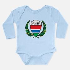 Stylized Gambia Long Sleeve Infant Bodysuit