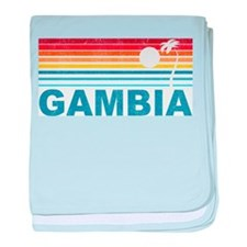 Palm Tree Gambia baby blanket