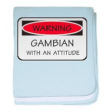 Attitude Gambian baby blanket