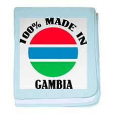 Made In Gambia baby blanket