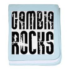 Gambia Rocks baby blanket