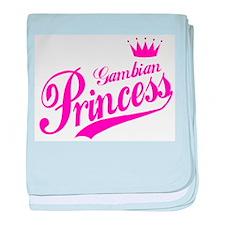 Gambian Princess baby blanket
