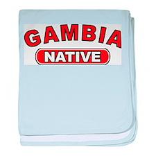 Gambia Native baby blanket