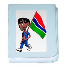 3D Gambia baby blanket