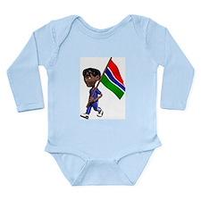 3D Gambia Onesie Romper Suit