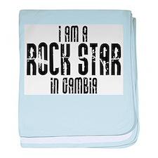 Rock Star In Gambia baby blanket
