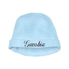 Vintage Gambia baby hat